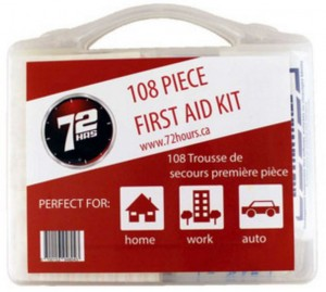108pcs First Aid Kit