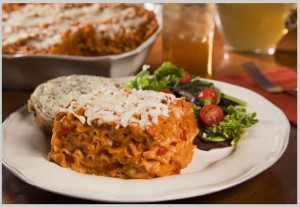 Wise Food Storage - Entrée: Cheesy Lasagna