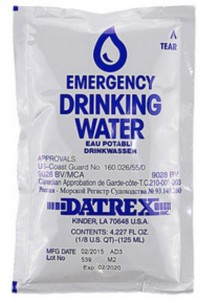 Datrex Emergency Drinking Water 125ml