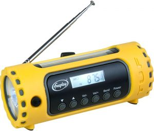 Survival-Supplies.ca - Freeplay TUF AM/FM/SW Radio – Solar and Hand-Crank Charging