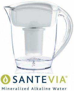 Survival-Supplies.ca - SANTEVIA Mineralized Alkaline Water Pitcher